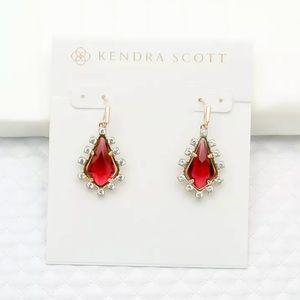 NEW Kendra Scott Juniper Gold Drop Dangle Earrings